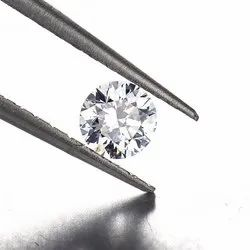 CVD Diamond 1.12ct D SI1 Round Brilliant Cut HRD Certified Stone
