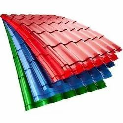 PPGI Corrugated Sheet, Thickness Of Sheet: .30mm To .80mm