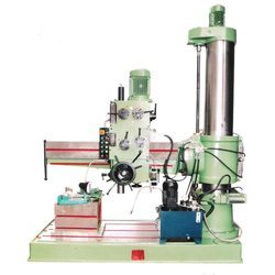 Single Column Geared Radial Drilling Machine