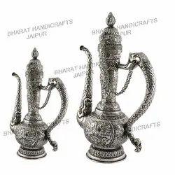 Silver Plated Antique Surai