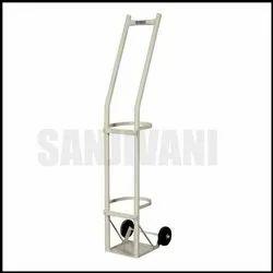 Aluminum Oxygen Cylinder Trolley