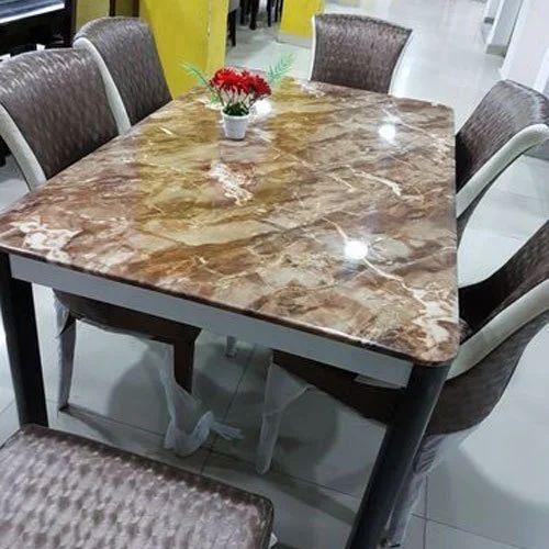 Marble Top Dining Table मार्बल डाइनिंग टेबल Sunitha