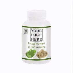 Matras 100% Natural Vegan Bacopa Extract Capsule, 60 Piece Per Bottle
