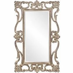 Glossy Designer Glass Mirror, For Home, Size: 18 X 24 Inch