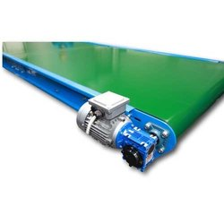 Green PVC Flat Conveyor Belt
