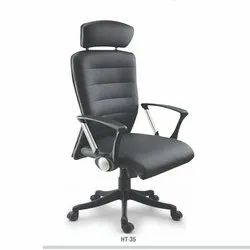 Revolving Black Director Chair