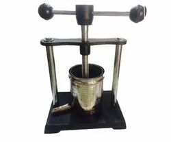 Stainless Steel Tincture Press