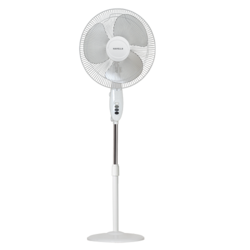 Swing Pedestal Fan - 400 mm sweep White