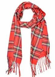 Designer Men Woolen Check Scarves