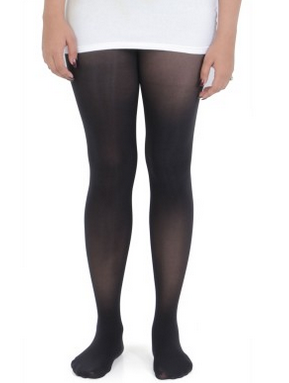 cc0111fd226 Women Ladies 1 Piece Black Plain Sheer Stockings