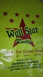 Wallstar Rustic Texture for Walls, Packaging Type: Bag