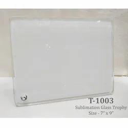 Sublimation Certificate Plaque