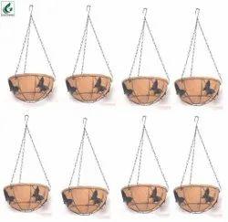 Coir Garden 10 Inch Coir Hanging Basket