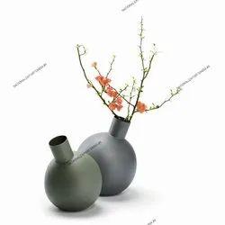 Metal Vases For Decoration