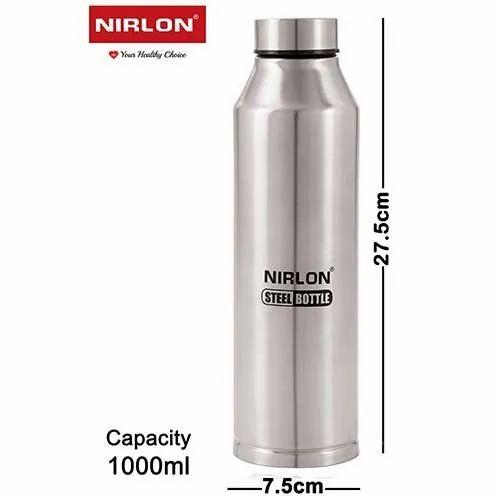 1000 ml Crystal Freezer Steel Bottle