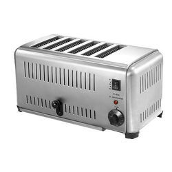 Stainless Steel Slice Pop Up Toaster, Power:  850 W