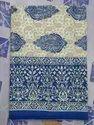 Jaipur Bed Sheet Indigo Color