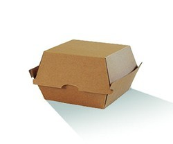 Burger Packaging Boxes, Size: Standard