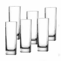 K&T Transparent Glass Tumblers Tableware