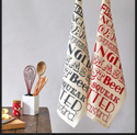 Organic Cotton Printed Kitchen Towel Sets