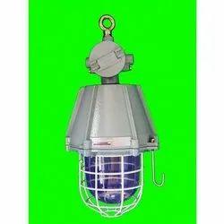 SAI-EX Aluminium Flameproof Weatherproof LED Well Glass Fitting, Ceiling Mount