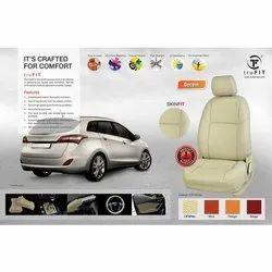 PU Leather Creem Premium Car Seat Cover