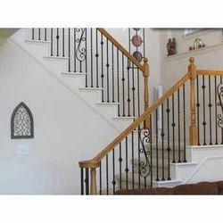 Mild Steel Staircase Railing