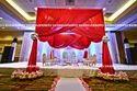 Asian Fabric Wedding Mandap