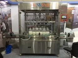 Automatic Lubricant Oil Filling Machine( 500 ml to 5000ml)