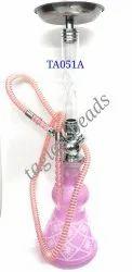 Glass Pink  Hookah