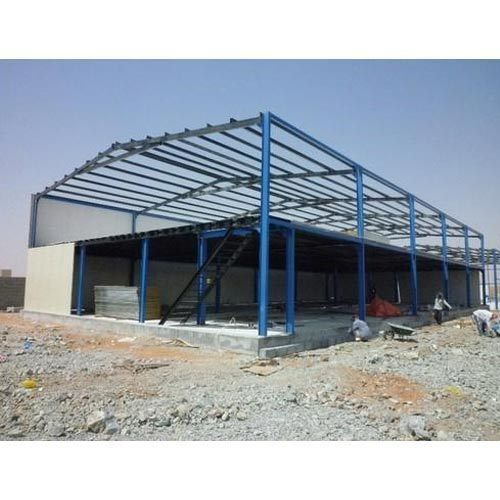 Steel Prefabricated Factory Structure service
