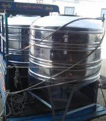 SS Vertical Storage Tank
