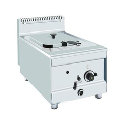Stainless Steel Gas Deep Fryer, Power: 6 W