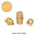 Brass Pu Tube Fittings For Pneumatic Connections