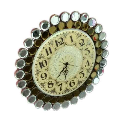 And Glass Decorative Wall Clock