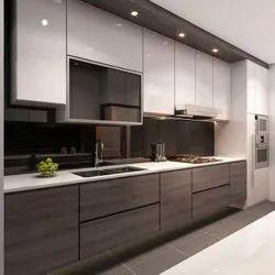 Design Today Wooden Modern Kitchen Wardrobe
