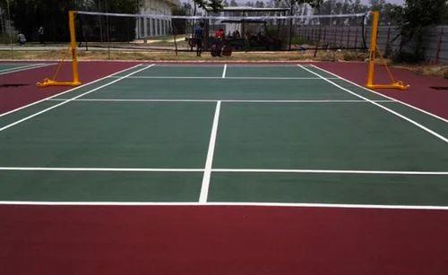 Outdoor Badminton Flooring