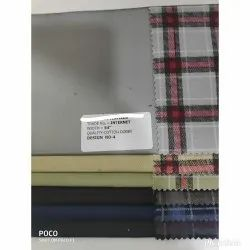 Jd's Formal Cotton Check Suiting Fabric For Garment, GSM: 200-250 Gsm