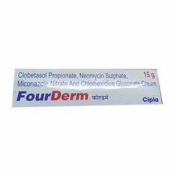 Clobetasol Propionate Neomycin Sulphate Miconazole Nitrate And Chlorhexidine Gluconate Cream