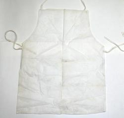 SS & WW Make Disposable White Apron Size 24''''36