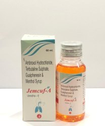 Ambroxole HCL, Terbutaline Sulphate & Guaiphenesin