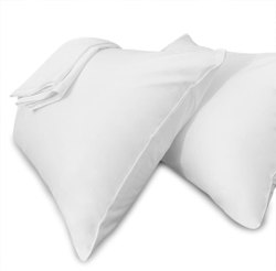 Vama White Hospital Pillow Cover, Set Content: 2 Piece