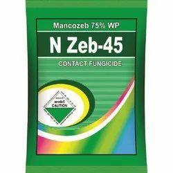 N Zeb 45 Mancozeb 75% WP Fungicide