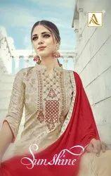 Banarasi Embroidery Salwar Suit
