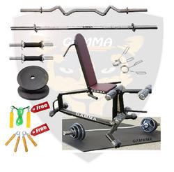 Dumbbell Fly Bench With Leg Curl Combo