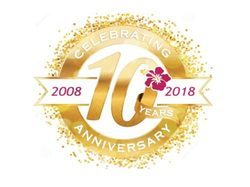 Celebrating 10 successful years