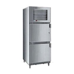 Stainless Steel Silver Two Door Refrigerator