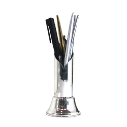 Silver Plated Pen Stand