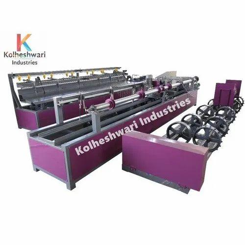 KI-100 Automatic Chain Link Fencing Machine