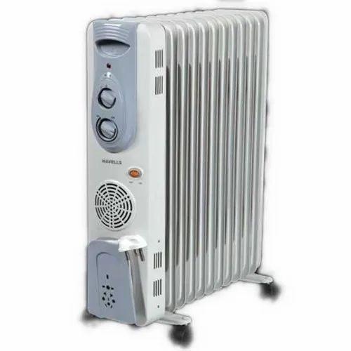 9Fin 2500-Watt PTC Fan Heater (Black) For